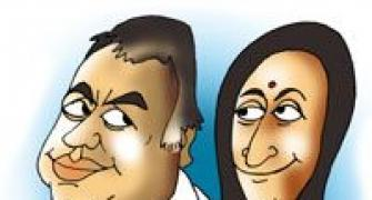 Behind Paresh Rawal's rise is the wife