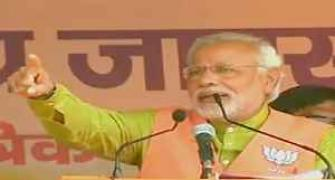 Modi seeks vote for tainted candidate in Bihar