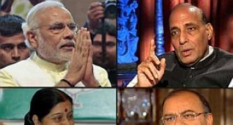 Portfolios announced: Rajnath gets Home, Sushma MEA, Gadkari transport