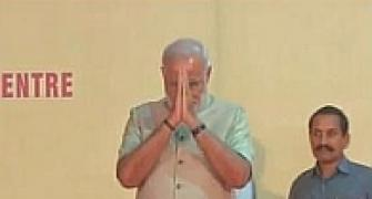 In his first visit to Varanasi after taking charge, PM to adopt village