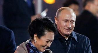 When Putin flirted with China's First Lady