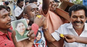 It's an early Diwali for Jaya's supporters