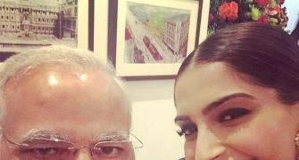 When Modi was part of the 'best selfie'