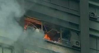 Several trapped as fire breaks out at high rise in Kolkata