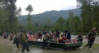 Over 100 dead, 2600 villages submerged as floods ravage Kashmir