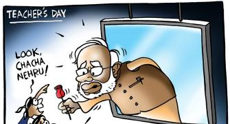 Why Modi suffers from Nehruitis