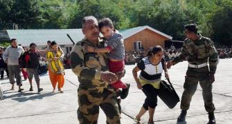 Army, IAF work tirelessly to rescue flood-hit victims