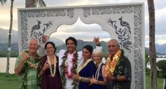 Tulsi Gabbard ties knot in Vedic ceremony in Hawaii