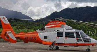 Arunachal Pradesh: Missing helicopter spotted, rescue efforts underway