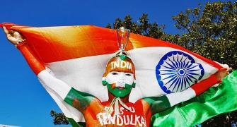 'When the tri-colour is painted on my body, I feel I can even die for my country'