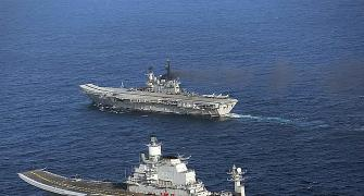 Ride the wave with aircraft carriers