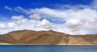 Ladakh's picturesque Pangong Tso lake is under threat...