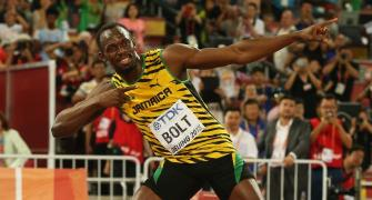 I am a living legend, says Usain Bolt