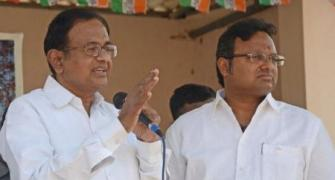 Did Chidambaram threaten to quit over Karthi's seat?
