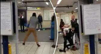 Attacker screaming 'this is for Syria' stabs 3 in London station