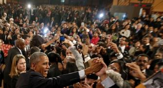 In final speech to India, Obama emphasises religious tolerance