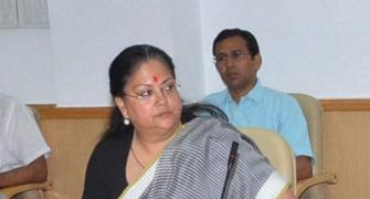 Has Vasundhara Raje overcome the political storm?