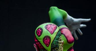 PHOTOS: Bold and beautiful body art