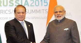 Friends-turned-foes-turned-friends: Modi, Sharif meet in Ufa