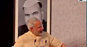 In Jammu, Modi takes dig at dynastic politics, mocks Robert Vadra
