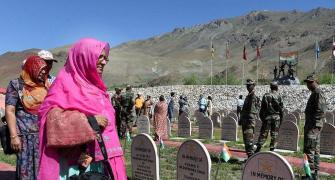 I was told my papa died in a war called Kargil