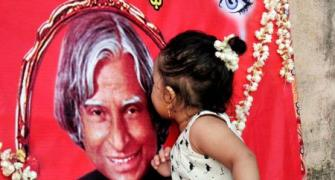Did President Kalam have a premonition of his death?