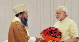 Don't believe in politics that divides: Modi to Muslim leaders