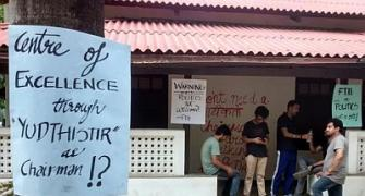 FTII stalemate continues over a fortnight on