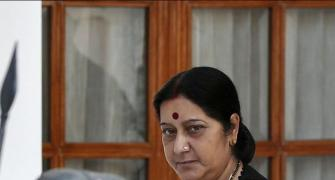The burden of expectation on Mrs Swaraj