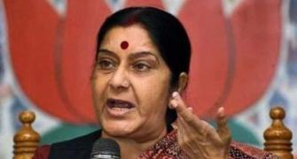 Sushma Swaraj is no pushover