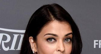 Pix: Aishwarya arrives in Cannes!