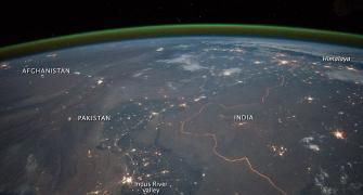 PHOTOS: This is what the Indo-Pak border looks from space