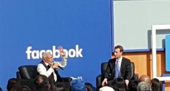 10 Likes from Modi@FB town hall
