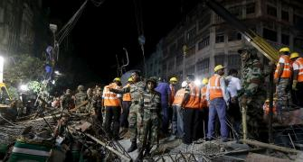 Kolkata flyover contractor now blames 'bomb blast', 5 officials detained