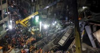 TMC, BJP engage in war of words over flyover collapse