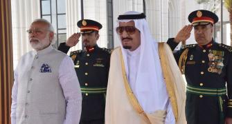 PM Modi, Saudi king ink agreement on fighting terror