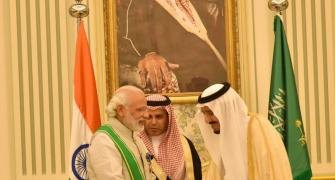 Modi's tightrope walk in Saudi Arabia