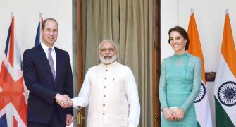 PM Modi hosts lunch for royal couple