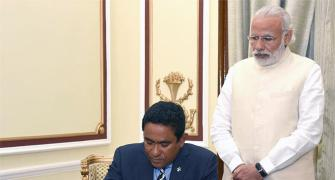 Maldives deal: India takes China head on