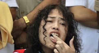 Anger in Manipur over Irom Sharmila's decision