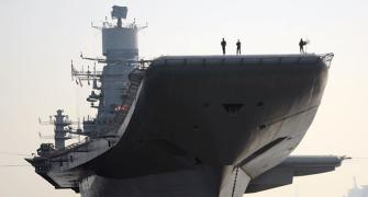 COVID-19 delays India's second aircraft carrier