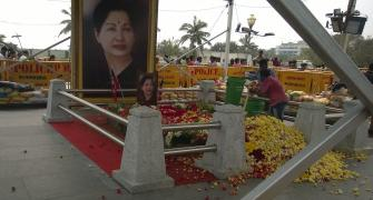 A week on: At Amma's samadhi