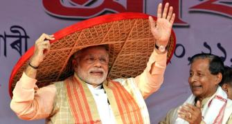 Modi says Gandhi family disrupting Parliament to avenge poll defeat