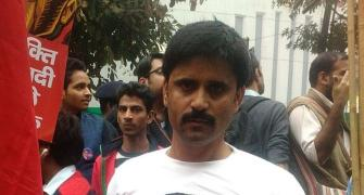 PHOTOS: Wearing 'Kanhaiya' T-shirts, students march for JNU leader's release