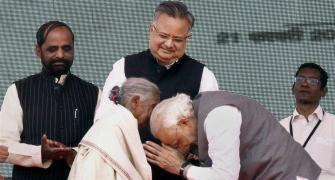 Why PM Modi bowed his head before this 104-year-old woman
