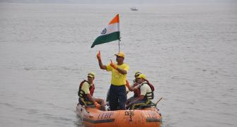 Rafting down the Ganga, for a cause