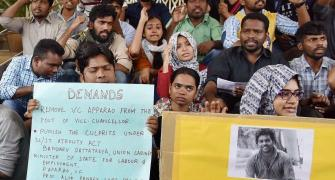 Dalit student's death gains political heat, campus protests on