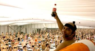 Hot Yoga guru in 'hot soup'!