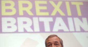 Britain's Nigel Farage quits as leader of pro-Brexit party
