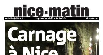 L'horreur: How newspapers reacted to Nice attack
